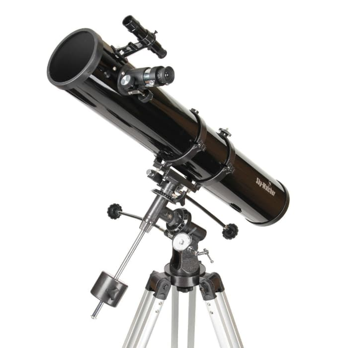 Skywatcher Newton Telescopio 114 900, Montatura Equatoriale Eq1, Nero